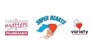 Pharmasave Super Hearts campaign
